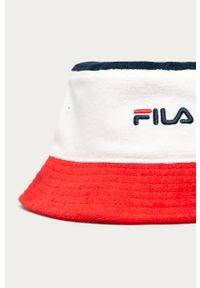 Wielokolorowy kapelusz Fila z aplikacjami