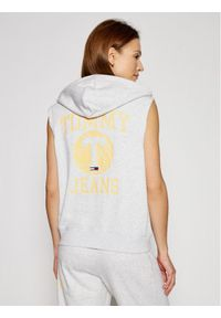 Tommy Jeans Bluza Bball DW0DW09799 Szary Relaxed Fit. Kolor: szary