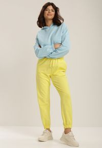 Żółte spodnie dresowe Renee