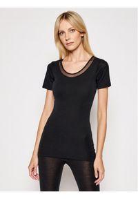 Femilet by Chantelle T-Shirt Juliana FN1583 Czarny Regular Fit. Kolor: czarny