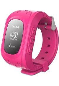 Różowy zegarek ART
