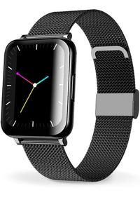 Aligator smartwatch Watch Life Black. Rodzaj zegarka: smartwatch. Kolor: czarny
