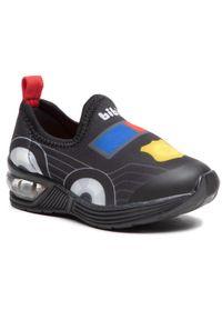 Bibi - Sneakersy BIBI - Space Wave 2.0 1132056 Print/Black. Kolor: niebieski. Materiał: materiał. Wzór: nadruk