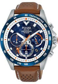 Zegarek Pulsar Zegarek Pulsar Solar męski chronograf PZ5113X1