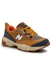 Brązowe sneakersy New Balance