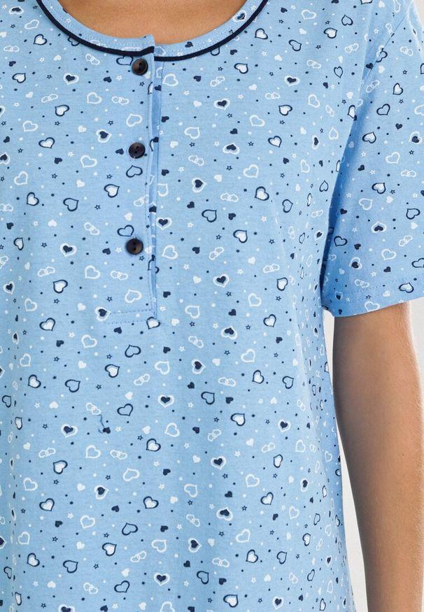 Niebieska koszula nocna Born2be