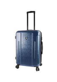 Niebieska walizka Mia Toro elegancka