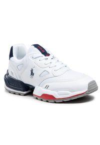 Polo Ralph Lauren Sneakersy Polo Jgr Pp 809829844001 Biały. Kolor: biały