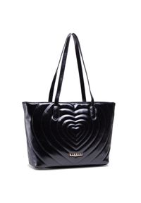 Monnari - Torebka MONNARI - BAG1810-020 Black. Kolor: czarny. Materiał: skórzane. Styl: klasyczny, elegancki, casual