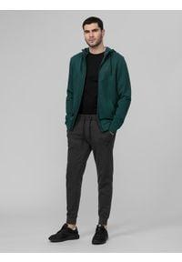 4f - Spodnie dresowe męskie. Kolor: szary. Materiał: dresówka