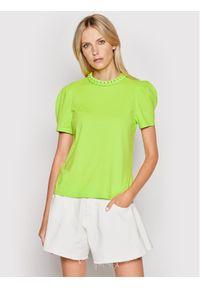 Imperial Bluzka TL85BAS Zielony Regular Fit. Kolor: zielony