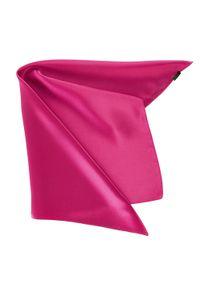 Różowy szalik Wittchen na lato, biznesowy, na spotkanie biznesowe