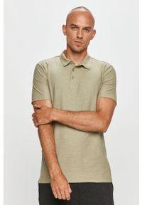 Zielona koszulka polo Only & Sons polo, krótka
