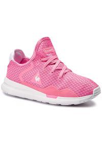 Różowe buty sportowe Le Coq Sportif z cholewką