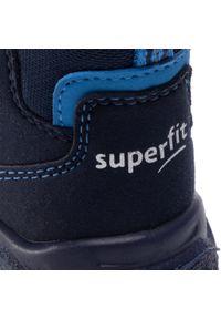 Niebieskie śniegowce Superfit