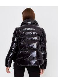 Pinko - PINKO - Czarna kurtka puchowa Mirco. Kolor: czarny. Materiał: puch. Sezon: zima