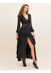 Czarna sukienka wieczorowa Pinko