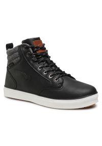 Bagheera - Sneakersy BAGHEERA - Ambler 86500-2 C0102 Black/Dark Grey. Kolor: czarny. Materiał: skóra ekologiczna, materiał. Szerokość cholewki: normalna
