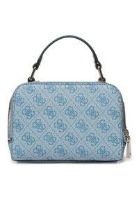 Niebieska torebka klasyczna Guess klasyczna