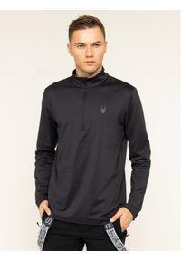 Czarna bluza sportowa Spyder
