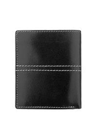 Czarny portfel Wittchen z aplikacjami
