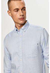 Jack & Jones - Koszula. Okazja: na co dzień. Typ kołnierza: button down. Kolor: niebieski. Styl: casual