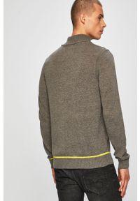 Szary sweter Blend na co dzień, casualowy, z golfem #6