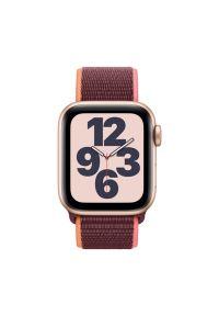 Złoty zegarek APPLE smartwatch, sportowy