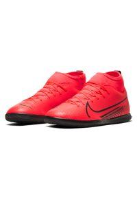 Buty halowe dla dzieci Nike Mercurial Superfly 7 Club IN AT8153. Materiał: guma, syntetyk, skóra. Szerokość cholewki: normalna