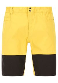 Żółte spodenki sportowe The North Face