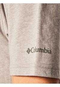 columbia - Columbia T-Shirt CSC Basic Logo EM2180 Szary Regular Fit. Kolor: szary #4