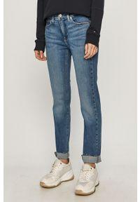 Niebieskie jeansy Calvin Klein