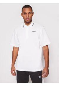 Adidas - adidas Polo Summer GN3835 Biały Regular Fit. Typ kołnierza: polo. Kolor: biały
