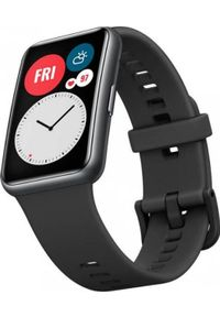 HUAWEI - Smartwatch Huawei Fit Stia-B09 Czarny (Fit). Rodzaj zegarka: smartwatch. Kolor: czarny