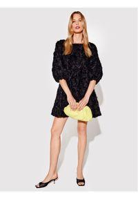 Rage Age Sukienka koktajlowa Halley 1 Czarny Regular Fit. Kolor: czarny. Styl: wizytowy