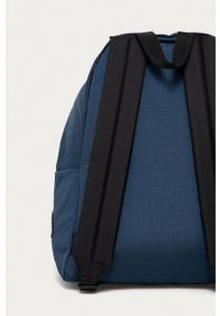 Eastpak - Plecak. Kolor: niebieski. Wzór: nadruk