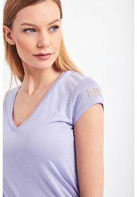 T-shirt Elisabetta Franchi na co dzień, casualowy