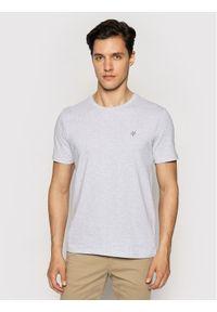 Marc O'Polo T-Shirt B21 2220 51068 Szary Shaped Fit. Typ kołnierza: polo. Kolor: szary