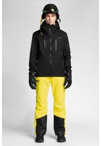 Czarna kurtka narciarska 4f na zimę