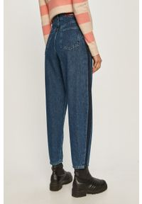 Niebieskie jeansy loose fit MAX&Co. z podwyższonym stanem