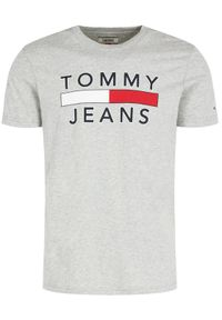 Szary t-shirt Tommy Jeans #5