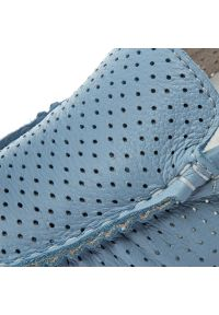 Niebieskie półbuty Nessi casualowe, z cholewką, na co dzień