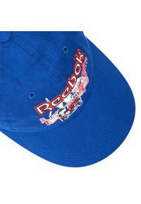 Czapka z daszkiem Reebok - Cl Travel Cap Croyal GJ5660 Croyal. Kolor: niebieski. Materiał: materiał, bawełna