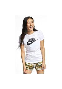 Koszulka damska Nike Sportswear Essential BV6169. Materiał: bawełna, jersey, materiał. Wzór: aplikacja