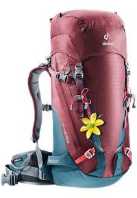 Deuter - DEUTER Guide 30+ SL Maron Arctic. Kolor: czerwony. Styl: sportowy