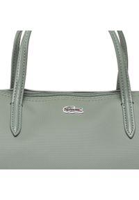 Zielona torebka klasyczna Lacoste