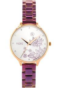 Fioletowy zegarek Pacific