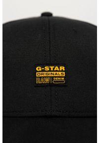 Czarna czapka z daszkiem G-Star RAW