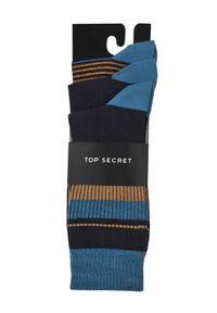 Niebieskie skarpetki TOP SECRET