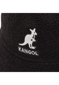 Kangol - Kapelusz KANGOL - Bucket Big Logo Casual K3407 Black BL001. Kolor: czarny. Materiał: akryl, nylon, materiał. Styl: casual